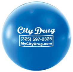 City Drug Stress Ball